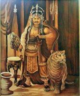 King Airlangga of Kahuripan, Java (r. 1019-1045)