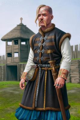 Prince Sviatoslav I of the Kievan Rus' (r. 964-972)