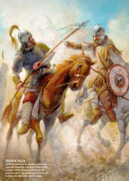 Byzantines defeat the Ostrogoths at the Battle of Taginae, 552