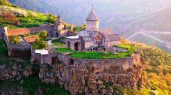 Armenia, first Christian country (301)