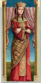 Empress Theodora (r. 1055-1056), last of the Macedonian Dynasty