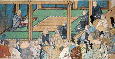 Jodo Shu Buddhism, founded by Honen Shonin in 1175