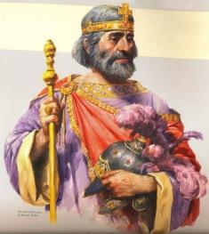 Emperor Heraclius of Byzantium (r. 610-641)