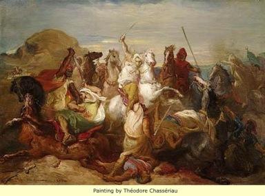 Arab armies of the Rashidun Caliphate invade Byzantine Egypt, 640s