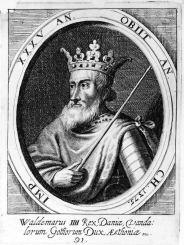 King Valdemar I of Denmark (r. 1154-1182)
