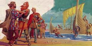 Saxons arrive in Britain, 5th century