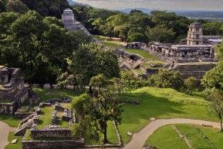 Mayan city of Palenque, Mexico