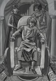 Insanity of Justin II, 574