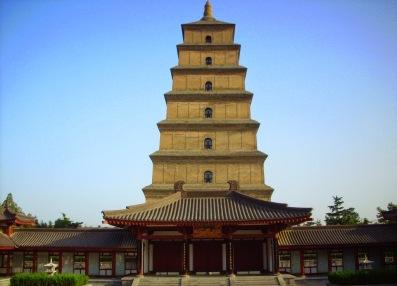 Wild Goose Pagoda of Xi'an, built in 652