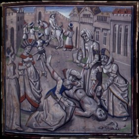 Torture and death of Andronikos I, 1185