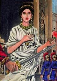 Placidia, daughter of Valentinian III and wife of Olybrius