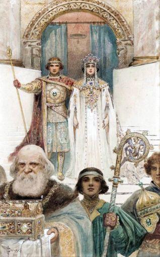 Wedding of Alexios III's granddaughter Theodora and Ivanko of Bulgaria, 1197