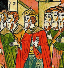 The last Byzantine emperor claimant Andreas Palaiologos (1453-1502) in Moscow, son of Thomas Palaiologos