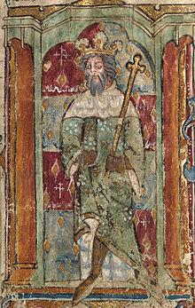 Magnus Maximus as the Welsh legend Maxen Wledig
