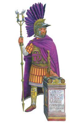 Carausius, emperor of the independent Britannic Empire (r. 286-293)