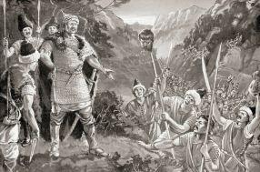 Defeat of the Byzantines to the Bulgarians at Pliska and Nikephoros I decapitated, 811