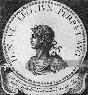Byzantine emperor Leo II (r. 474), son of Zeno and Ariadne