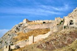 Fortress of Leo Sgouros in Greece