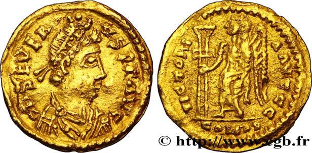 Western emperor Libius Severus or Severus III (r. 461-465)