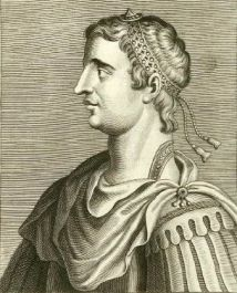Emperor Gratian of the west (r. 375-383), son of Valentinian I