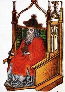 King Geza II of Hungary (r. 1141-1162)