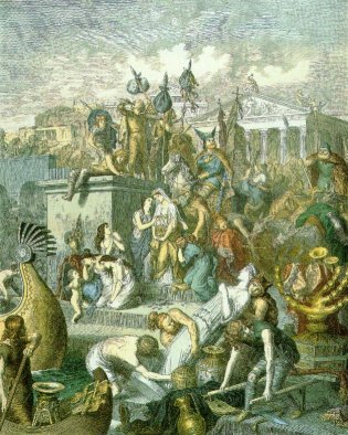Vandals' attack on Rome, 455