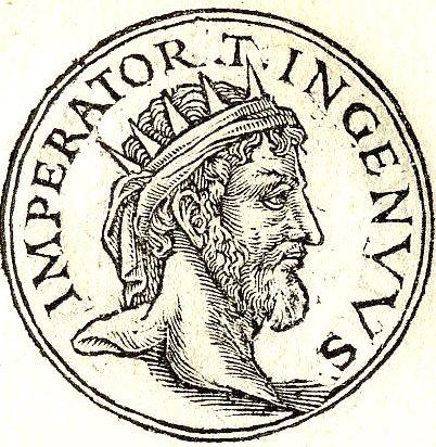 Ingenuus, Roman usurper against Gallienus in 260