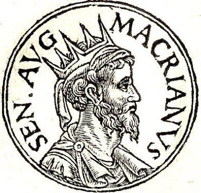 Macrianus Major, Roman usurper in the east (r. 260-261)