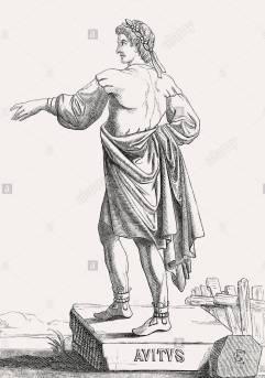 Western Roman emperor Avitus (r. 455-456)