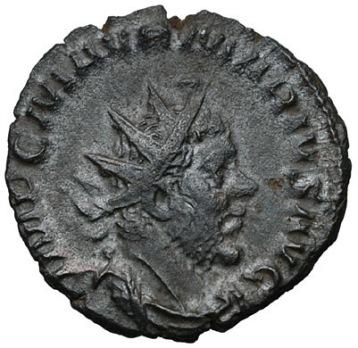 Coin of Gallic emperor Marius (r. 269)