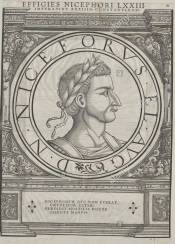 Nikephoros Caesar, 6 time usurper between 776 and 812, son of Constantine V