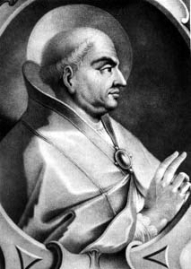 Pope Martin I, imprisoned by Constans II