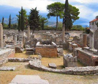 Salona, retirement place of Glycerius