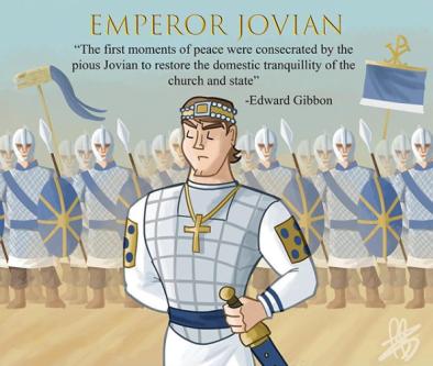 Emperor Jovian (r. 363-364)
