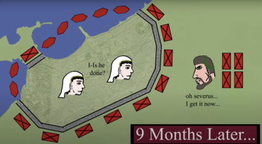 Diocletian's siege of Alexandria, 297-298
