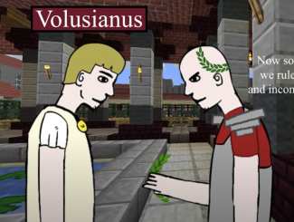 Emperor Gallus (left, r. 251-253) and his son and co-emperor Volusianus (right)