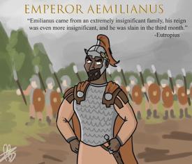 Emperor Aemilian (Aemilianus), r. 253