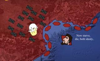 Constantius III's blockade of Mediterranean Gaul for the Goths