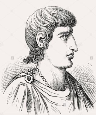 Emperor Constantine II of the west (r. 337-340), son of Constantine I