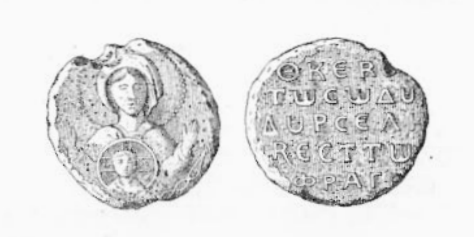 Coin of the Norman Byzantine usurper Roussel de Bailleul (1073-1074)