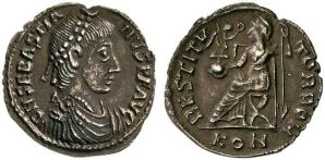 Coin of Jovinus' brother and co-emperor Sebastianus (r. 412-413)
