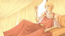 """Sporus, man turned """"wife"""" of Nero"""