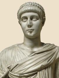 Emperor Valentinian II, son of Valentinian I