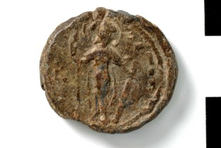 Coin of Constantine Gabras, independent ruler of Chaldia (1126-1140)