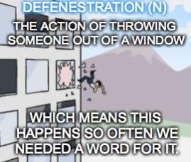 Meme of Defenestration