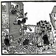 1618 Defenestration drawing