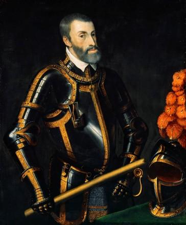 Holy Roman emperor Charles V (r. 1519-1556)