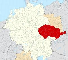 Location of Bohemia (red)