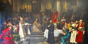 Jan Hus at the Council of Konstanz, 1415
