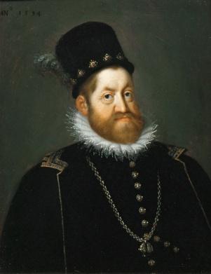 Holy Roman emperor Rudolf II (r. 1576-1612)